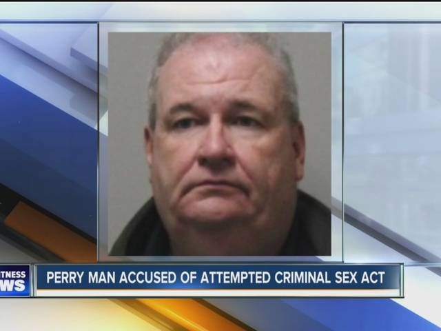 Perry man accused of attempting to have sexual contact with 13-year-old girl