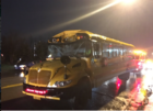 School bus driver injured in collision
