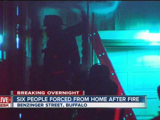 Six people displaced from fire in Lovejoy