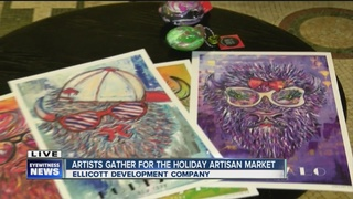 Local artists showcase goods at Artists Market