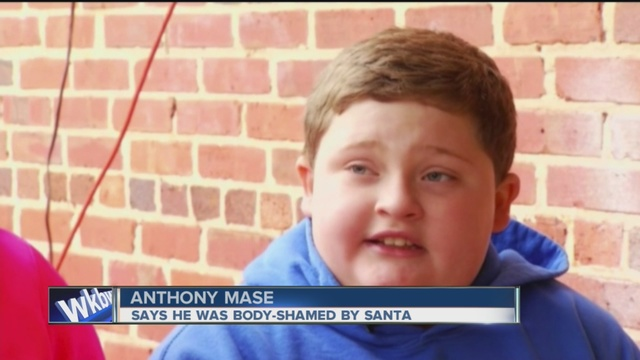 Not so jolly: Mom wants NC Santa fired for fat-shaming son