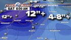 Lake effect snow returns Thursday and Friday