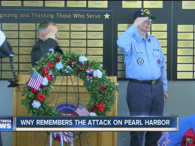 WNY remembers the attack on Pearl Harbor