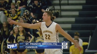 Canisius outlasts St. Francis for 91-81 win
