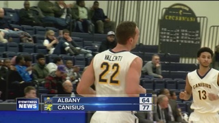 Griffs hammer Albany 77-64