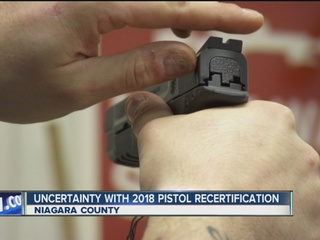 Uncertainty surrounds NYS pistol recertification