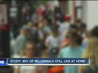 Why 40% of Millennials are living with family