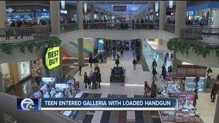 Teen brings loaded handgun to local mall