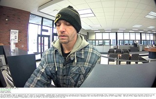 Police looking for suspected bank robber