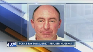 Man arrested for DWI, after cursing at police