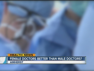 Female doctors maybe better than male doctors