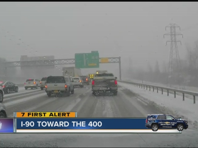 travel advisories in wny due to heavy snowfall