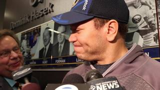 Sabres' Okposo reacts to All-Star game selection