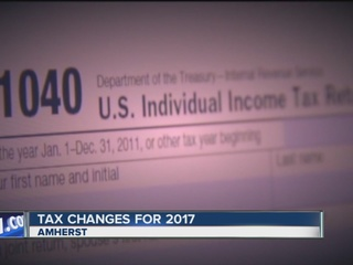 Major changes for taxes in 2017