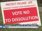 Residents fight over village merger