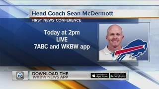 Bills to formally introduce Coach Sean McDermott