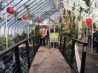 New exhibits on display at Botanical Gardens