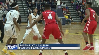 Kassius Robertson lifts Canisius past Marist