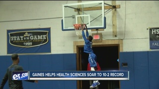 Gaines' high flying act powering Health Sciences