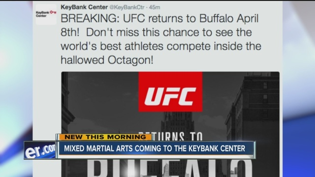 UFC 210: Buffalo Plays Host For First Time Since 1995