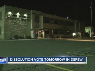 Depew dissolution decision remains divided