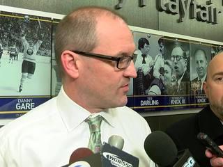 Sabres fire GM Murray, head coach Dan Bylsma