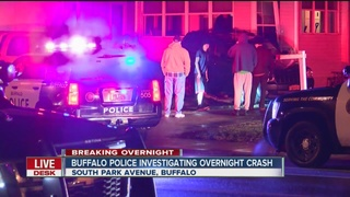 Buffalo police investigating overnight SUV crash