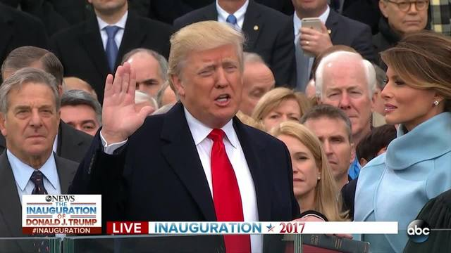Donald Trump-s Oath of Office