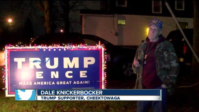 Western New Yorkers react to inauguration