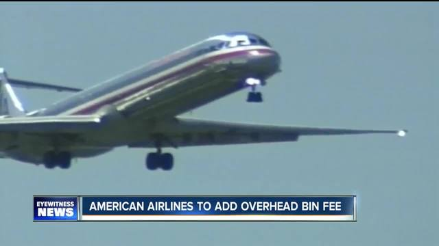 American Airlines to add overhead bin fee