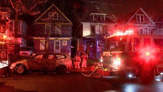 Suspicious fire on Kermit under investigation