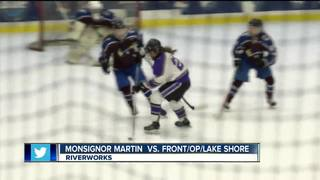 MMA girls hockey, South Park boys win
