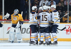 Sabres face Predators for first time this year