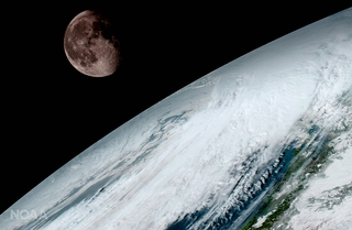 Weather satellite captures stunning images