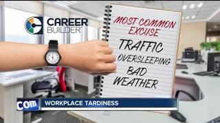 Late to work? You're not alone.