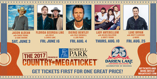 Enter the Darien Lake Megaticket Sweepstakes