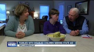 Families with disabled child seeking state aid