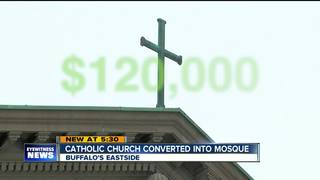 Former Buffalo church converts into mosque