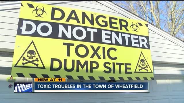 Wheatfield landfill claims top -2-5 billion