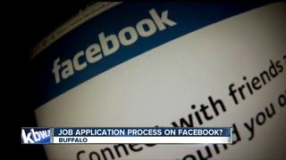 Applying for jobs through Facebook