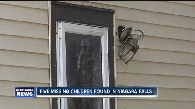 Five missing children found safe