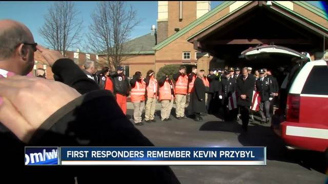 First responders remember EMT who died