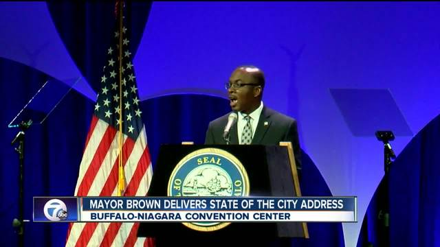 Buffalo Mayor Byron Brown delivers 11th -State of the City- address