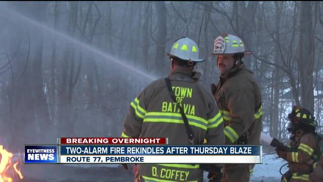 Elderly man escapes fire in Pembroke