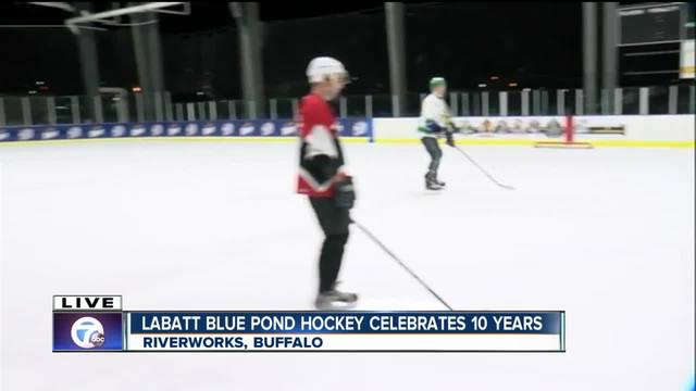 Labatt Blue Pond Hockey celebrates a decade in Buffalo