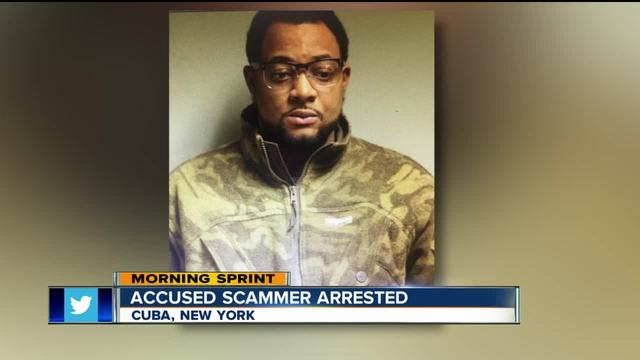 POLICE- Man arrested for quick-change scam