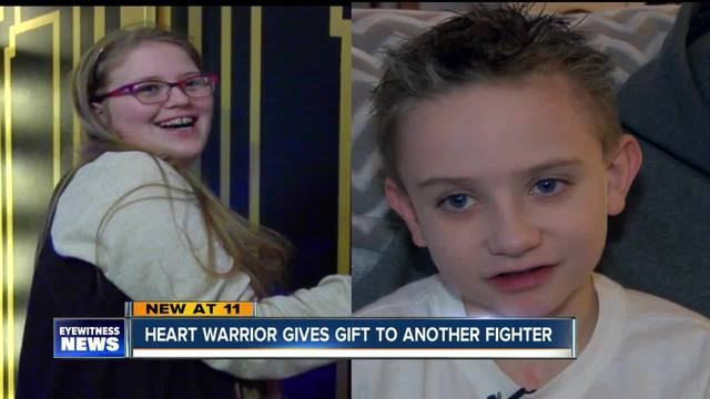Both heart warriors receiving free trip to NYC
