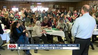 Congressman Tom Reed holds town hall meetings