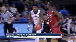UB men win 6th straight, UB women roll Akron