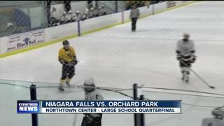 Niagara Falls stuns OP, North rolls onto semis